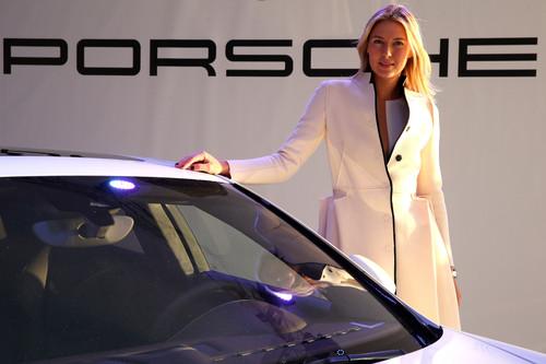 "Maria Sharapova bei der Präsentation des ""Panamera by Maria Sharapova""."