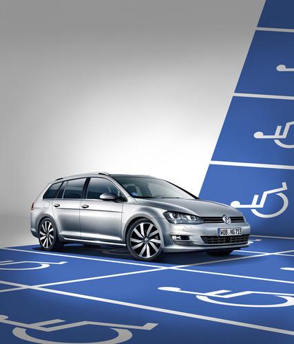 Volkswagen Golf Variant mit Fahrhilfen ab Werk bestellbar.