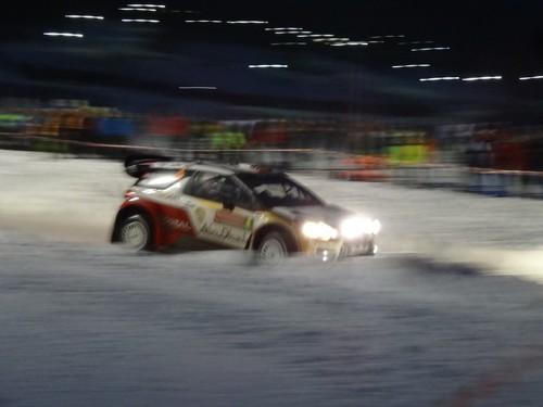 WRC Rally Schweden.