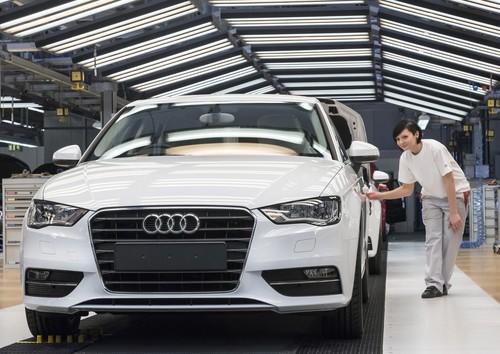 Produktion des Audi A3 Sportback in Ingolstadt.