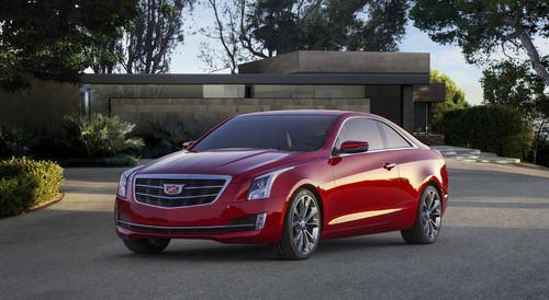 Cadillac ATS Coupé.