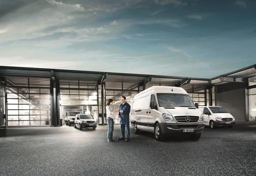 mercedes benz bietet garantie f r gebrauchte transporter auto medienportal net. Black Bedroom Furniture Sets. Home Design Ideas