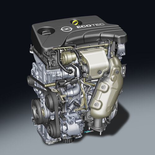 1.0 Ecotec Direct Injection Turbo von Opel.