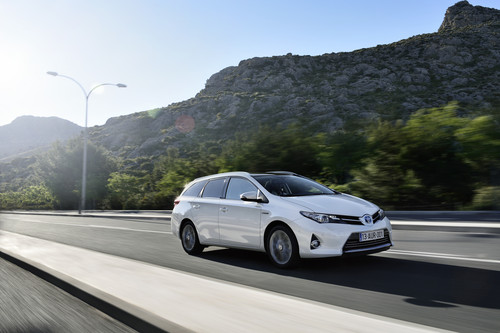 Toyota Auris Hybrid Touring Sports.