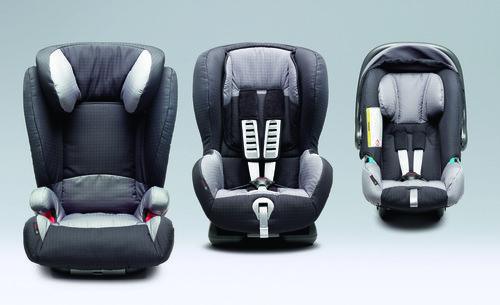 Kindersitze von Toyota.