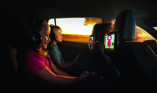 Rear-Entertainment-System von Toyota.