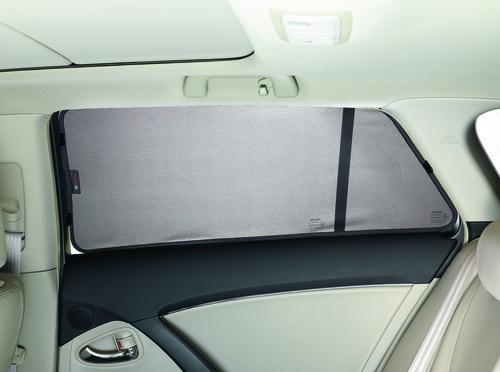 Sonnenschutzblende im Toyota Avensis.