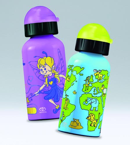 Kindertrinkflaschen von Toyota.