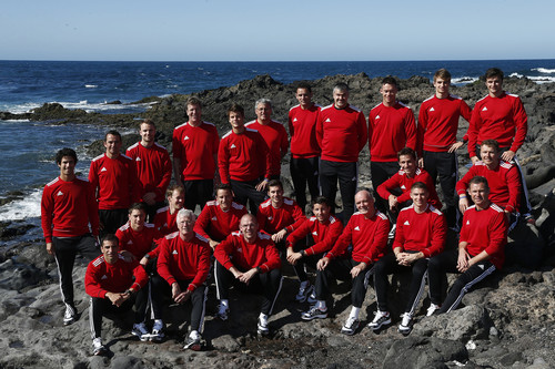 Die Mannschaft von Audi-Motorsport.
