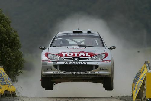 Peugeot 206 WRC.
