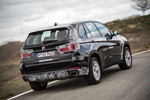 BMW X5 eDrive-Prototyp.