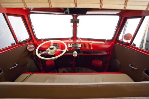 """Volkswagen T 1 """"Kurzurlaub"""" von Michael Brandt."""
