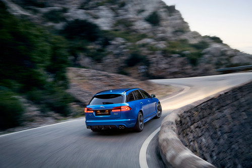 Jaguar XFR-S Sportbrake.