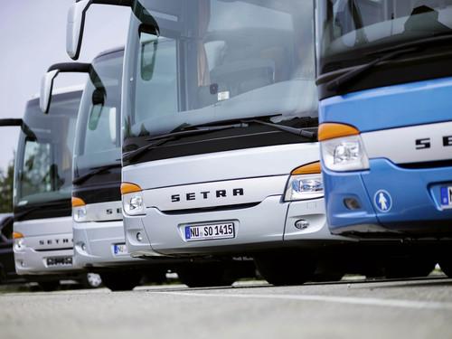 Bus-Store von Daimler.