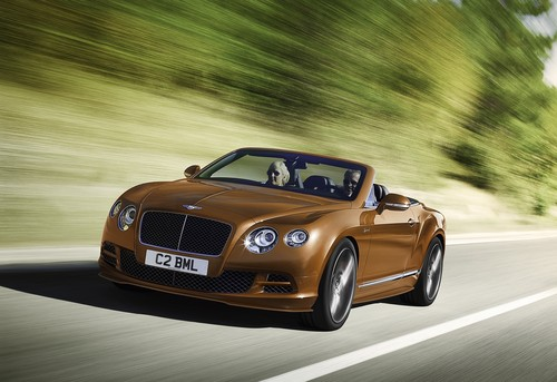 Bentley Continental GT Speed Convertible.