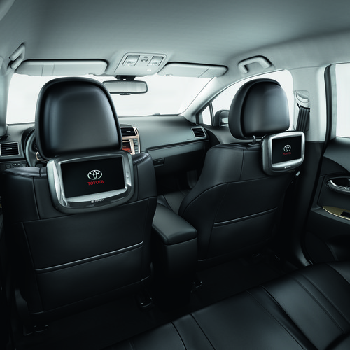 Entertainment-System im Toyota Avensis.