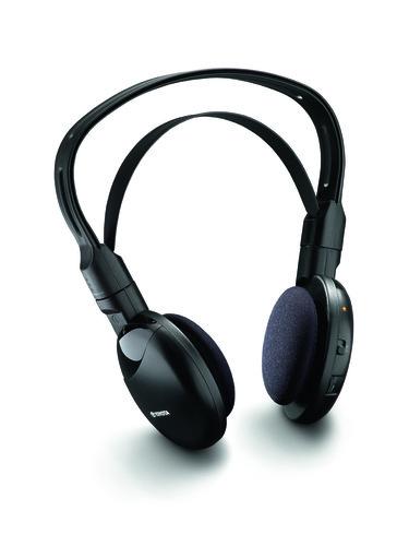 Kopfhörer für das Toyota-Entertainment-System.