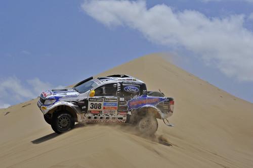 Ford Ranger bei der Rallye Dakar.