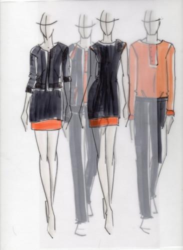 Designskizzen von Hien Le.