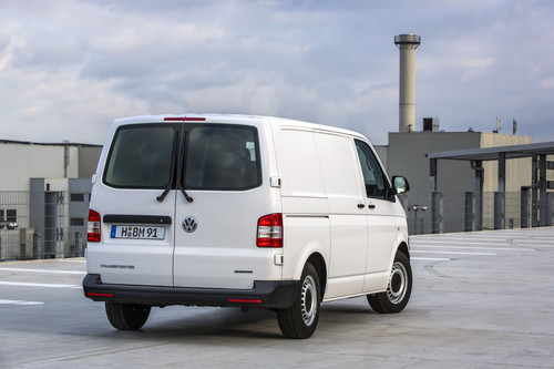 Volkswagen Transporter Blue Motion.
