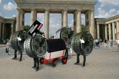 Fulda-Karnevalsumzug in Berlin.