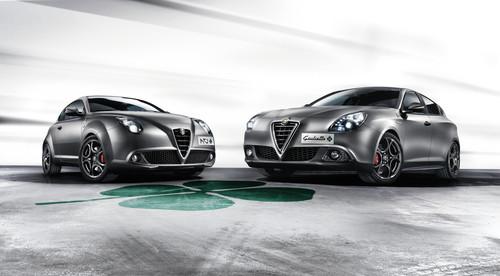 Alfa Romeo Giulietta Quadrifoglio Verde und Mito Quadrifoglio Verde.