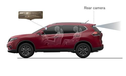 Smart-Mirror von Nissan.
