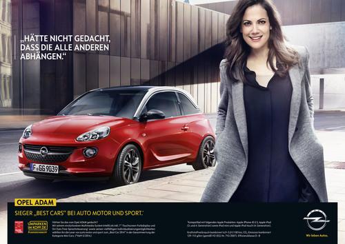 "Opel-Kampagne """"Umparken im Kopf"" mit Bettina Zimmermann."
