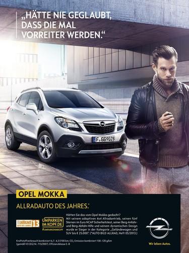 """Opel-Kampagne """"""""Umparken im Kopf"""" mit Ken Duken."""