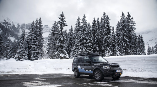 """Discovery Adventure Challenge"":  Land Rover Discovery XXV."