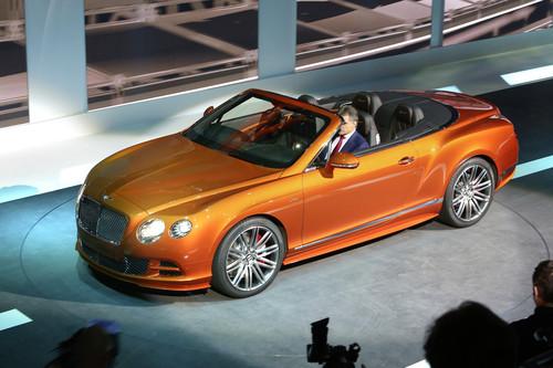 Bentley Continental GT Speed.