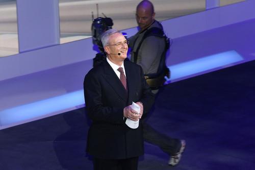 Volkswagen-Konzernabend 2014 in Genf: Konzernchef Martin Winterkorn.