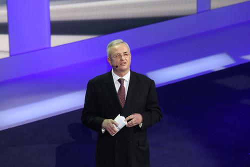 Volkswagen-Konzernabend 2014 in Genf: VW-Chef Martin Winterkorn.