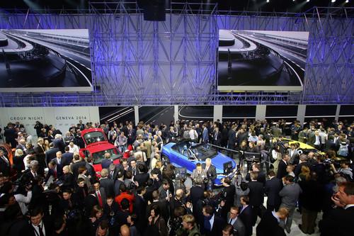 Volkswagen-Konzernabend 2014 in Genf.