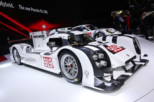 Porsche 919 Hybrid.