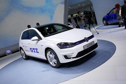 Volkswagen Golf GTE.