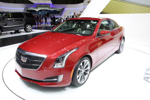 Cadillac ATS Coupe.
