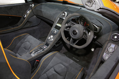 McLaren 650S Spider.