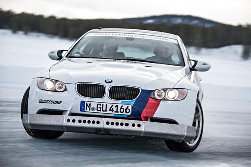 Mit BMW aufs Eis.