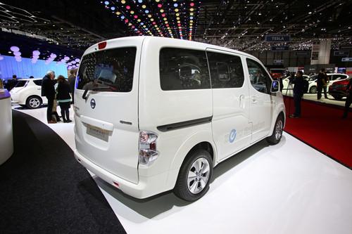 Nissan e-NV200.