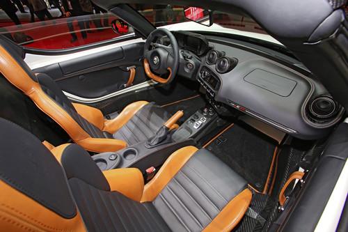 Alfa Romeo 4C Spider.