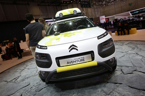 Citroen C4 Cactus Adventure.