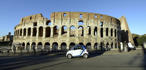 Car2go in Rom.