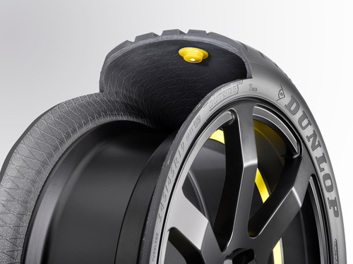Chip-in-Tire-Technologie von Goodyear.
