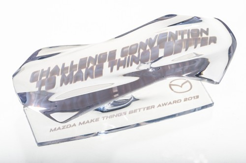 """Make Things Better Award"" von Mazda."