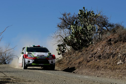 Rallye Mexiko 2014: Ford Fiesta RS WRC.