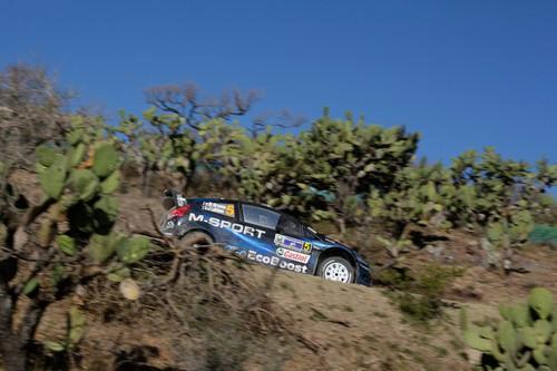 Rallye Mexiko 2014: Mikko Hirvonen im Ford.