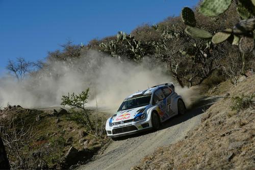 Rallye Mexiko 2014: Jari-Matti Latvala im Volkswagen Polo R WRC.