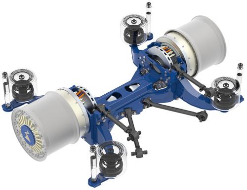 Radnabenantrieb ZA-Wheel von Ziehl-Abegg.