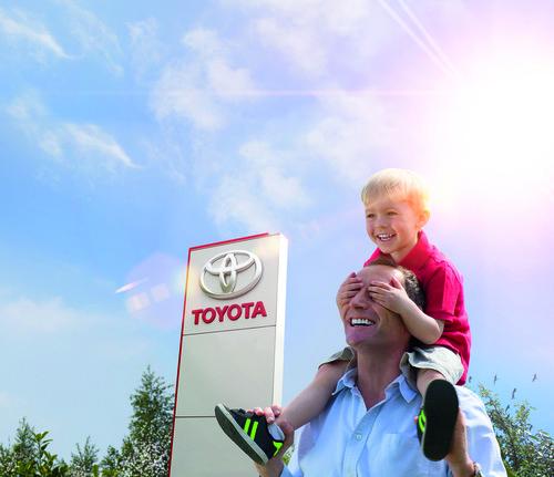 Toyota-Umweltwochen.